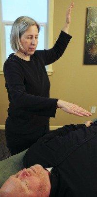 Energy pump energy healing technique