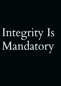 Monogamy Spirituality Integrity Joy poster