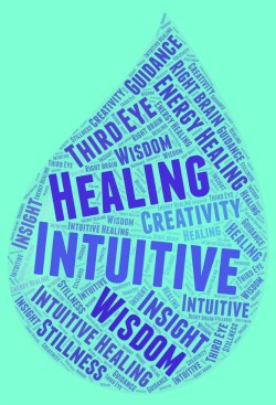 Intuitive Healing word cloud