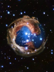 Hubble Telescope image of earth from space