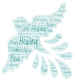 All Healing Is Self-Healing word cloud