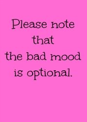 Graphic: Bad mood optional