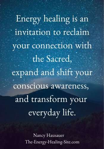 Energy healing is an invitation to reclaim your connection with the Sacred, expand and shift your conscious awareness, and transform your everyday life.