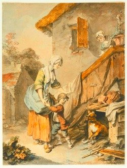 painting by S. Freudenburger; Swiss National Library, GS-GUGE-FREUDENBERGER-C-13; in public domain in its country of origin and other countries and areas where the copyright term is the author's life plus 100 years or less, including the U.S.