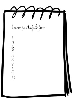 Gratitude Journal graphic