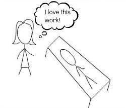 I love this work cartoon