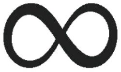The Celtic Weave follows the shape of an infinity symbol.