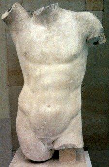 Statue of Apollo's torso